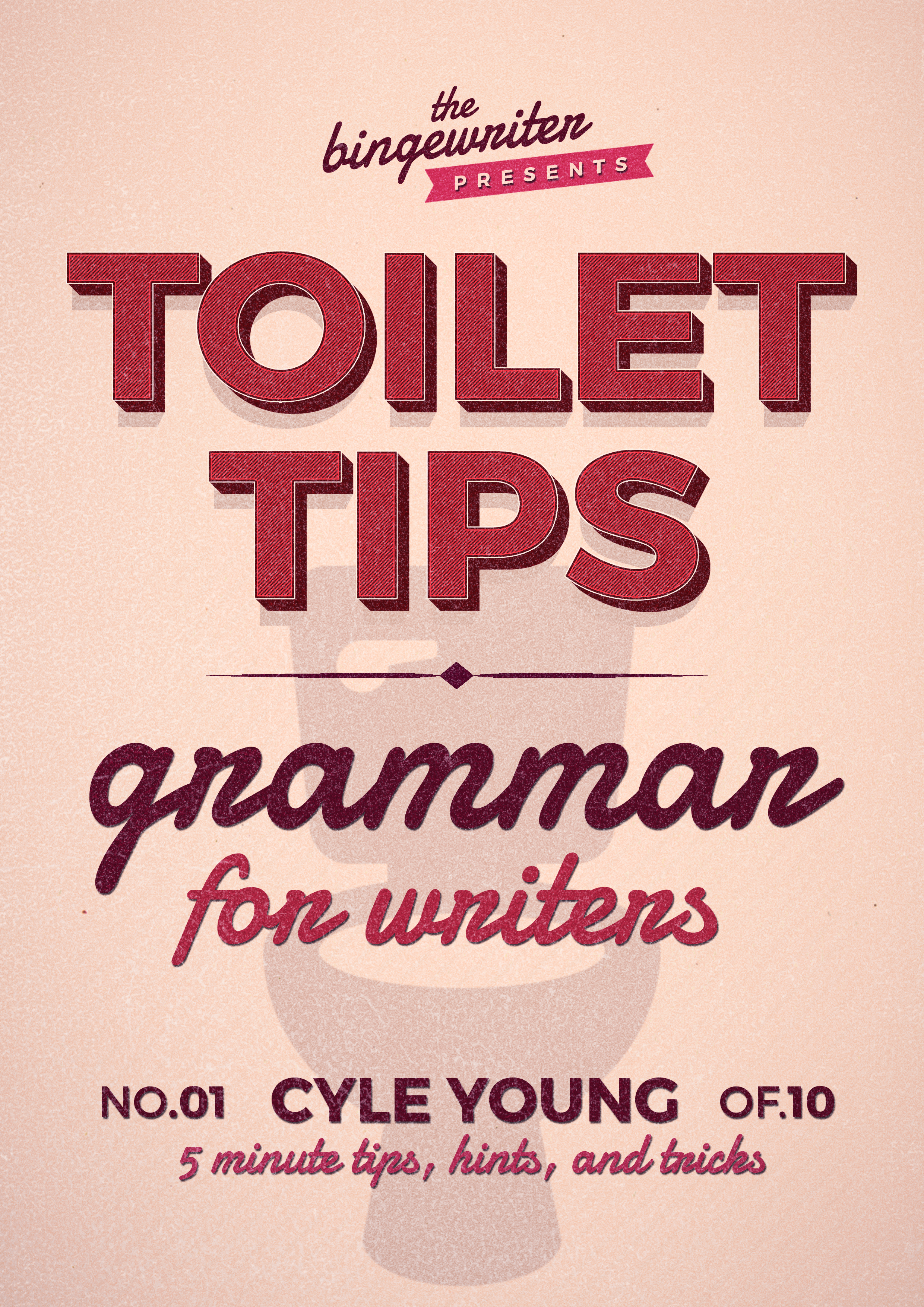 Toilet Tips Cover