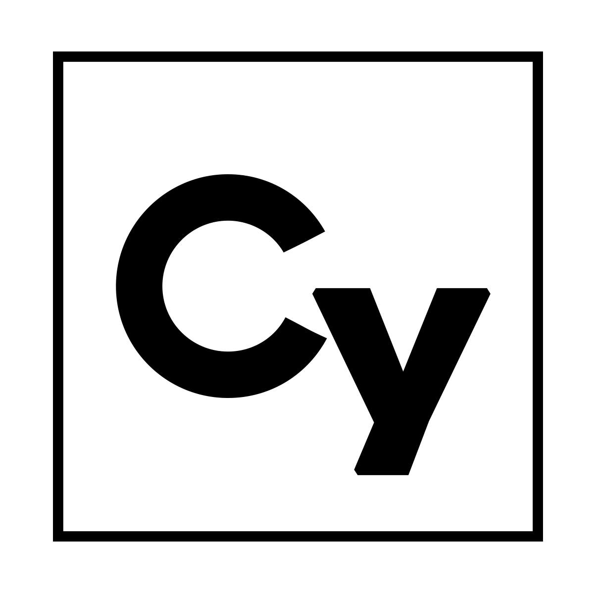Cy Logo 1 inch